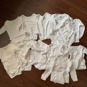 Unisex Little Baby Basics Bundle, 0-3M